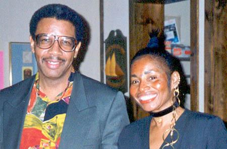 "Charles Covington with his ""helpmate"" Becky Covington. Photo courtesy of Becky Covington."