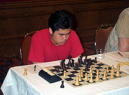 Hikaru Nakamura at the 2004 World Open. Photo by Daaim Shabazz