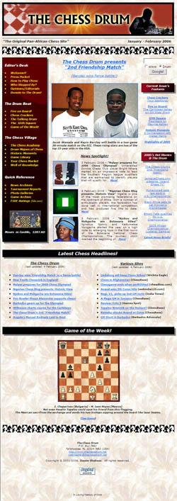 The Chess Drum, www.thechessdrum.net