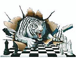 You'll find this tiger at the Olympiad in Siberia!