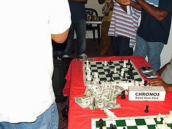 The Philly chess community comes through as always. Copyright © 2005, Glenn Bady.