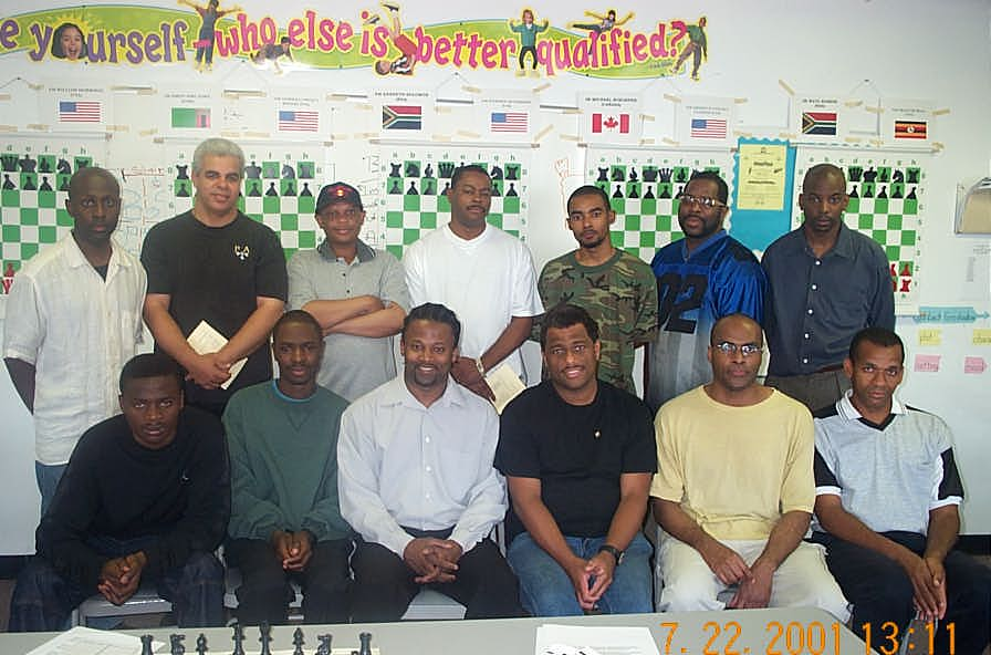 Wilbert Paige Memorial players and commentators. Copyright ©, Daaim Shabazz.