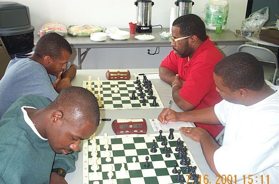 Top: Muhammad vs. Rogers Bottom: Nsubuga vs. Morrison. Copyright ©, Daaim Shabazz.