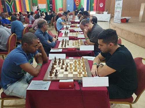 2019 African Championships: Round #7 - The Chess Drum