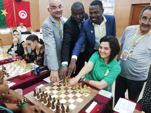 2019 African Championships: Round #1 - The Chess Drum