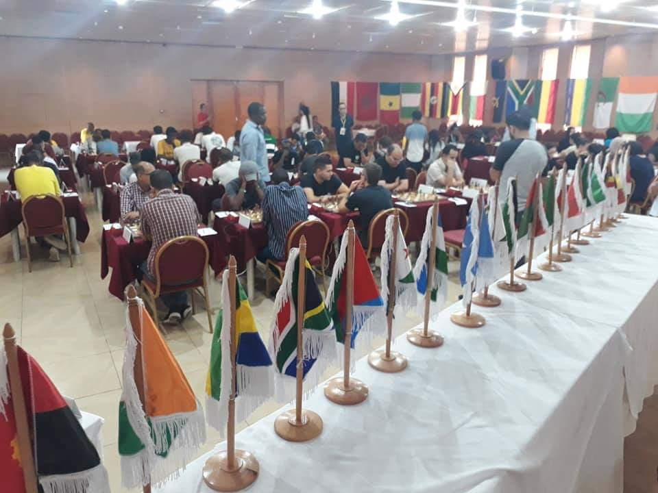 2019 African Championships: Round #6 - The Chess Drum