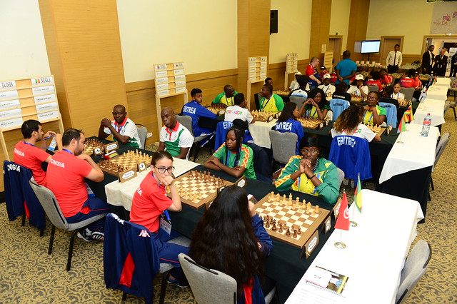 12th All-Africa Games: Mixed Rapid-Day 1 - The Chess Drum