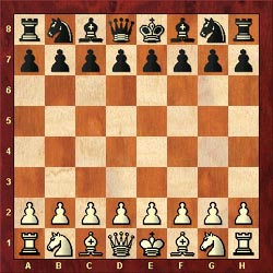 Starting Position in Chess