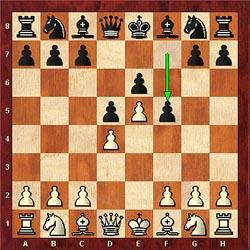 Black plays f5