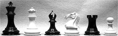 Chess Army - Black & White