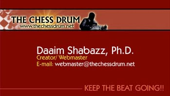 The Chess Drum, http://www.thechessdrum.net