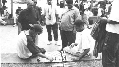 Chess in Downtown Atlanta