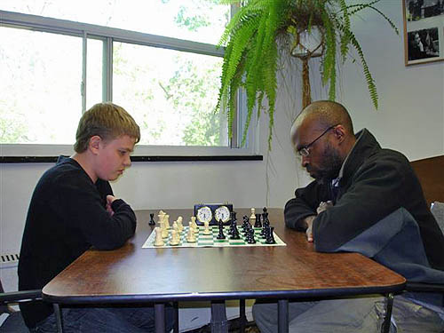 Schleifer at the 2007 BGC-Active tournament.