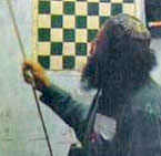 Bernard Parham teaching his Chess Matrix System