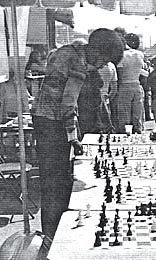 Charles Covington giving a simul in 70s. Copyright ©, Charles Covington.