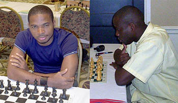 Kunle Elegbede has just announced a historic match to take place between two Nigerian sons… Nigerian Champion Chikwere Onyekwere and IM Oladapo Adu. The two will play an 6-game match in Houston, USA on January 11-14, 2007. The Chess Drum will post a report soon. Additional details can be found at the Nigerian Chess Blog or contact Mr. Elegbede at chesswiz_king@hotmail.com.