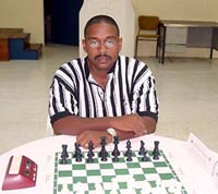 FM Delisle Warner, 2007 Barbados National Champion