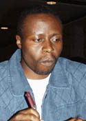 Humphrey Andolo of Kenya.Courtesy of ChessBase.com.