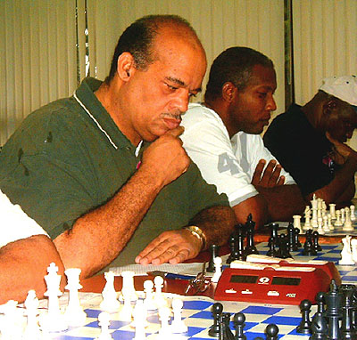 National Master John Powell (Jamaica) playing three days before his passing.
