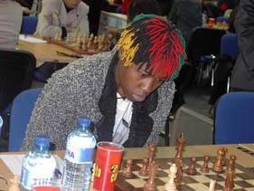 Zambia's Linda Nangwale at 2002 Olympiad.