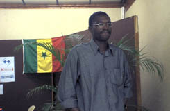 GM Ndiaga Samb (Senegal). Photo courtesy of Buggy-Online.