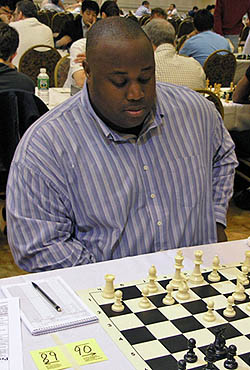 R.O. Mitchell at the 2006 World Open. Photo by Daaim Shabazz.