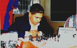 Shane 'The Magician' Matthews. Photo courtesy of Jamaican Chess Ambassadors Academy.