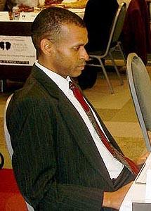 IM-elect Stephen Muhammad. Copyright © 2003, Jerry Bibuld.