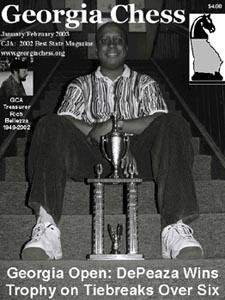 Terrence DePeaza. Copyright ©, Georgia Chess Association.