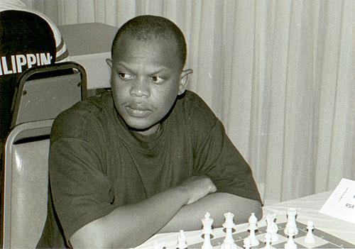 IM Watu Kobese at 1998 U.S. Masters in Honolulu, Hawaii.