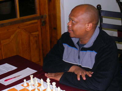 IM Watu Kobese at 2008 South Africa Open.