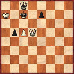 White mates in one!