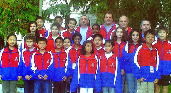 Twenty-one players representing the U.S. World Youth team. Darrian Robinson stand in the middle right.