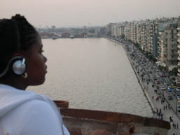A view of Thessalonika… a life-changing experience.