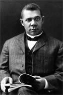 Booker T. Washington, founder of Tuskegee University