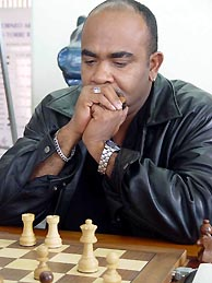 Cuba's IM Dionisio Aldama. Photo by Instituto del Deporte del Estado de Yucatán.