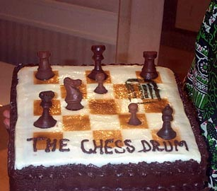 If you played chess as good as this cake tasted, Kasparov would be REAL nervous!