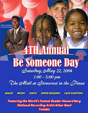 The Annual Be Someone Day