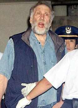 GM Bobby Fischer in Japanese custody.