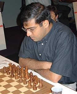GM Viswanathan Anand at Sao Paulo.