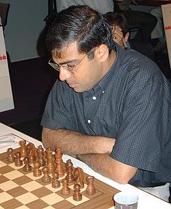 GM Viswanathan Anand at Sao Paulo.
