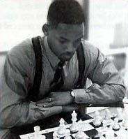Will Smith playing chess.
