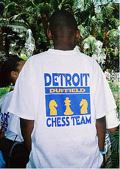 Duffield players proudly donning t-shirt at 2005 Supernationals III.
