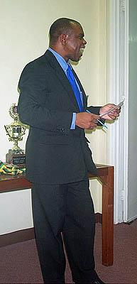 Attorney Ian Wilkinson