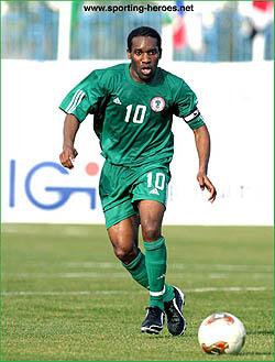 Nigeria's Augustine Okocha