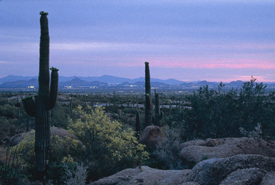Sunset in Phoenix, Arizona