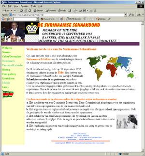 De Surinaamse Schaakbond