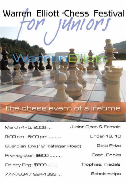 Warren Elliott Chess Festival. Copyright ©  2006, Five-Star Chess.
