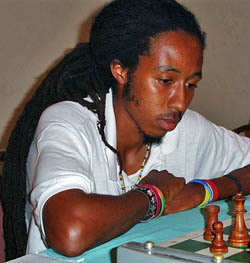 Malaku Lorne skipped Jamaica's National Championship to play in Bahamas' first FIDE event.