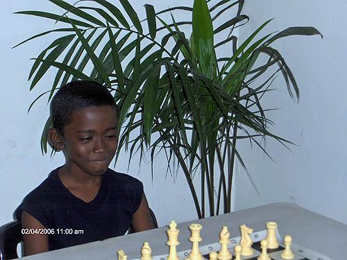 Kevin Mahabir (the thinker). Copyright © 2006, Lesley-ann Nelson.